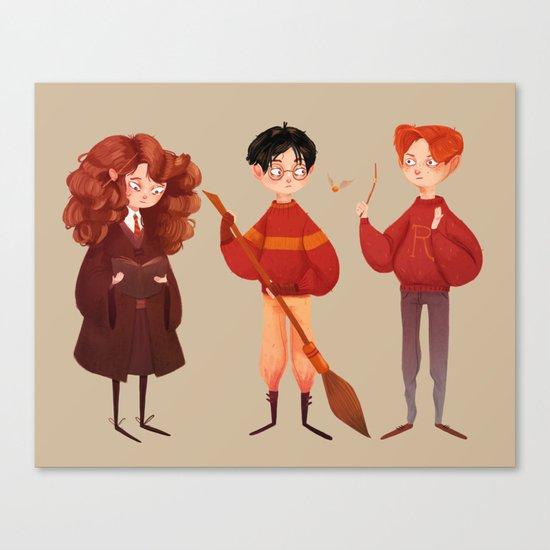 Friendship and Bravery Canvas Print