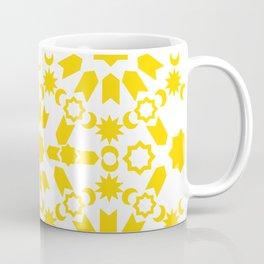 Golden Arabesque Coffee Mug