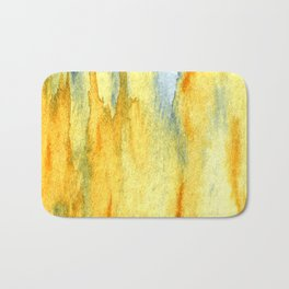 Earth toned abstract Bath Mat