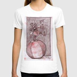 Clown Number 5 (lil' Mayhem) T-shirt