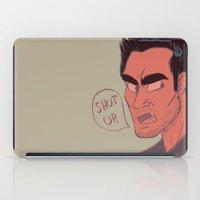 derek hale iPad Cases featuring Derek by The Art of Nicole