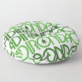 Adirondacks New York Floor Pillow