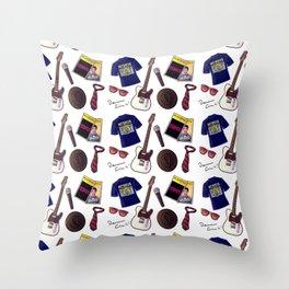 Darren's things Throw Pillow