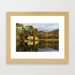 Friars Crag The English Lakes Framed Art Print