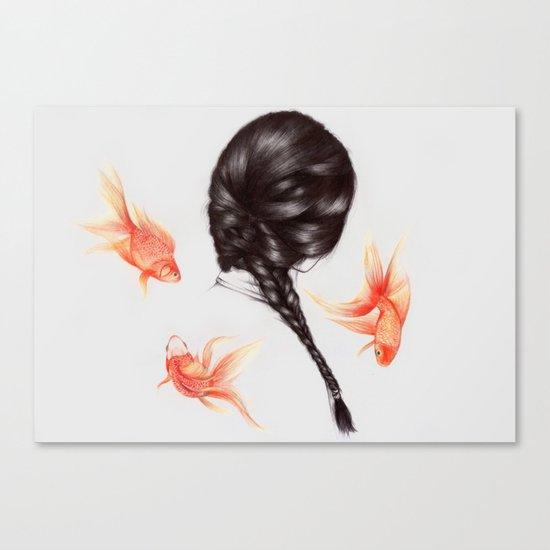 Hair Sequel  Canvas Print