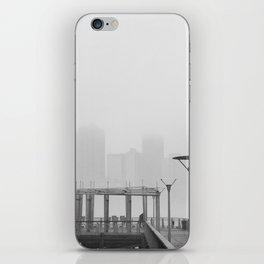 Misty City iPhone Skin