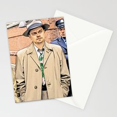 Leonardo DiCaprio in Shutter Island - Colored Sketch Style Stationery Cards