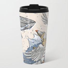 Raven and the Whale Travel Mug