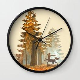 Mystic Hunt Wall Clock