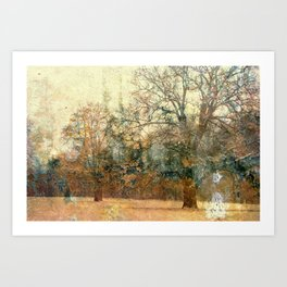 The Love of Trees Art Print