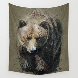Bear background Wall Tapestry