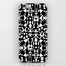 Black and White Square 2 iPhone & iPod Skin