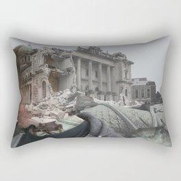 Earthquake Memorys  Rectangular Pillow