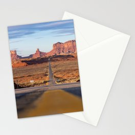 Monument Valley Desert Road Valley Drive Highway Route Arizona-Utah border Photograph Stationery Cards
