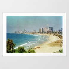 Dreamy Beach Art Print