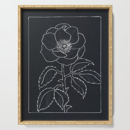 English Rose Serving Tray