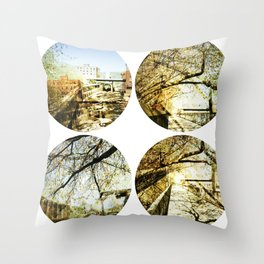 Sherbrooke circa Throw Pillow