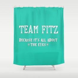 Team Fitz Shower Curtain