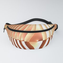 Bending the Bars of Rules - Pure Fractal Abstract Fanny Pack