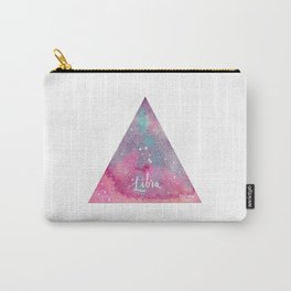 Libra - Astrology Mixed Media Carry-All Pouch