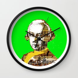 Mozart Kugel Green Wall Clock