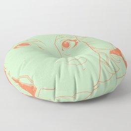 Etsy Girl Floor Pillow