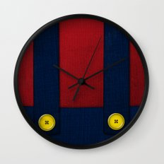 Video Game Poster: Plumber Wall Clock