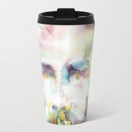 HERMAN MELVILLE - watercolor portrait.2 Travel Mug