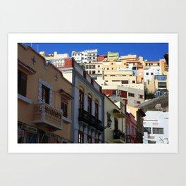 La Gomera 1.2 Art Print