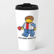 Love One Another Metal Travel Mug