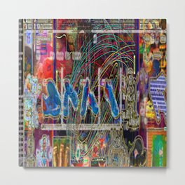 Life Only Makes Sense In Certain Fictions [A.N.T.S. Series] Metal Print