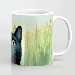 Cat 606 Butterfly Nature Coffee Mug