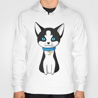 husky Hoodies featuring Husky by Freeminds