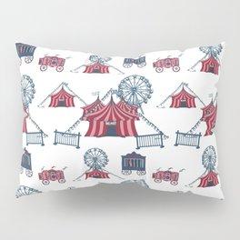 Circus Fun Pattern Art Pillow Sham