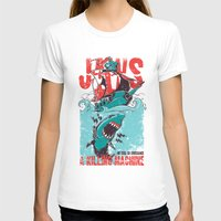 jaws T-shirts featuring Jaws by Tshirt-Factory