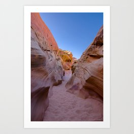 Colorful Canyon, Valley of Fire State Park Art Print
