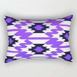 Ultraviolet geometry Rectangular Pillow