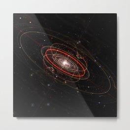 Space & Particles - GodEye 02 Metal Print