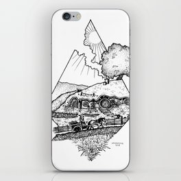 In a hole in the ground... iPhone Skin