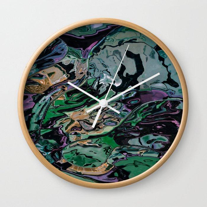 The hulk exploded Wall Clock