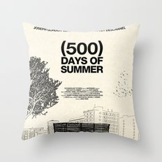 (500) Days of Summer Throw Pillow