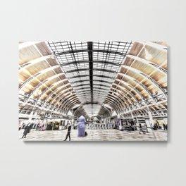 Paddington Station London Art Metal Print