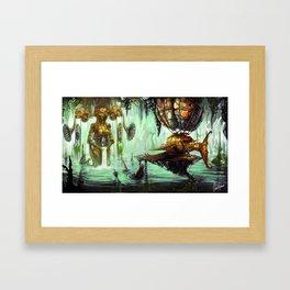Siren Calling Framed Art Print