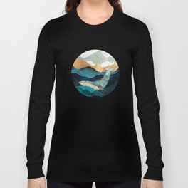 Blue Whale Long Sleeve T-shirt