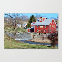 Taylor's Mill Canvas Print