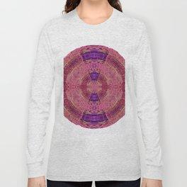327 - Abstract Lighttrails Orb Design Long Sleeve T-shirt