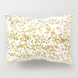 Chic Glam Confetti Dots Pillow Sham