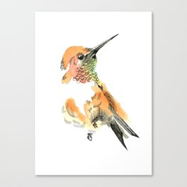 Spirit Orange Canvas Print