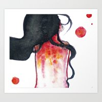 water color Art Prints featuring Water color by Kohaku+Disorder