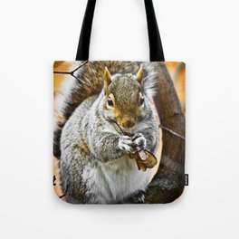 Lunchtime for a Squirrel Tote Bag
